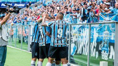 Photo of Grêmio goleia o Brasil de Pelotas na Arena e tem vantagem para o jogo de volta