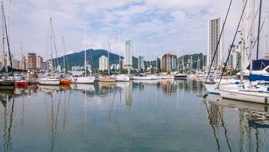 marina itajai 390x220 - Etapa brasileira da Volvo Ocean Race atrai navegadores para o litoral de Santa Catarina