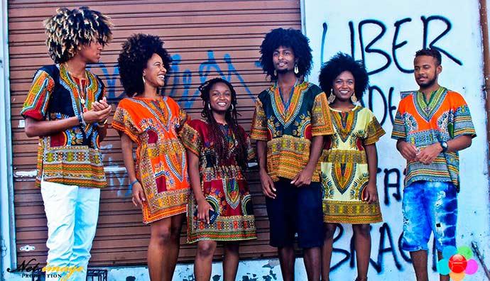 moda africana poa - Desfile de moda africana na Casa de Cultura Mario Quintana