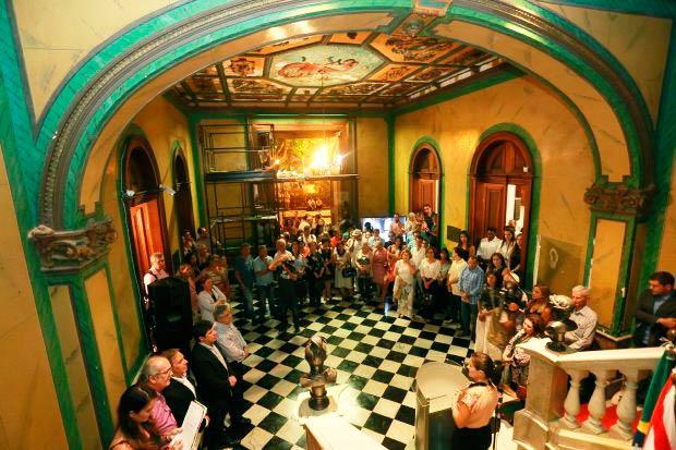 museu historico de santa catarina e reaberto ao publico com nova iluminacao - Museu Histórico de Santa Catarina é reaberto ao público