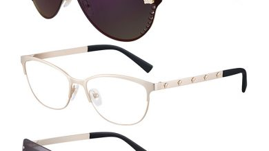oculos versace 390x220 - Versace lança no Brasil óculos cheios de atitude rockstar