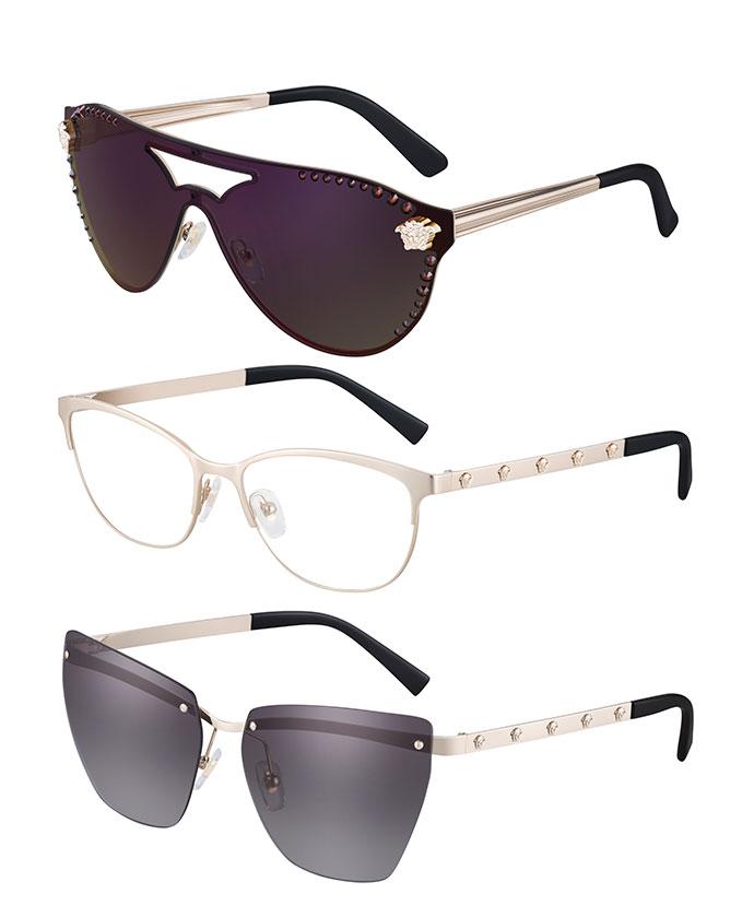 oculos versace - Versace lança no Brasil óculos cheios de atitude rockstar