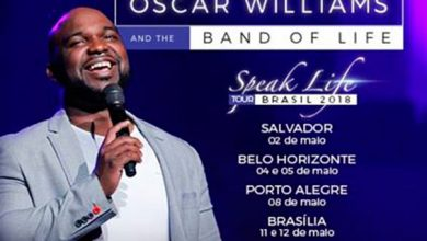 "oscar williams 390x220 - Consulado dos EUA traz a banda gospel ""Oscar Williams & the Band of Life"" para concertos gratuitos em Porto Alegre e Novo Hamburgo"