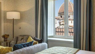 panoramic suite bedroom 2 web  390x220 - Hotel Savoy em Florença reabre após renovação com Emilio Pucci