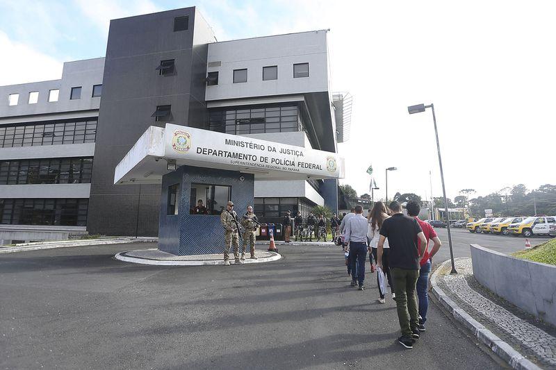 pf curitiba1 - PF diz que Lula recebe os mesmos benefícios dos demais presos
