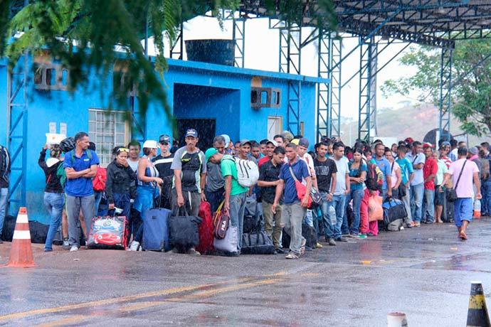 refugiados roraima - Imigrantes no Brasil somam 1,1 milhão