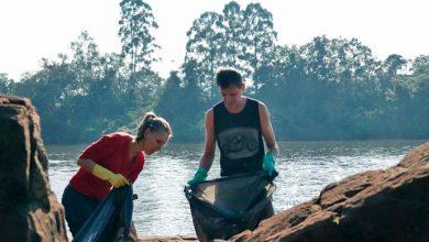 rio taquari 390x220 - Projeto Viva o Taquari-Antas Vivo retira 400 kg de lixo do Rio Taquari