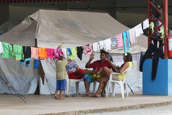 roraima refugiados venezuelanos - Temer critica proposta de fechar fronteira do Brasil com a Venezuela