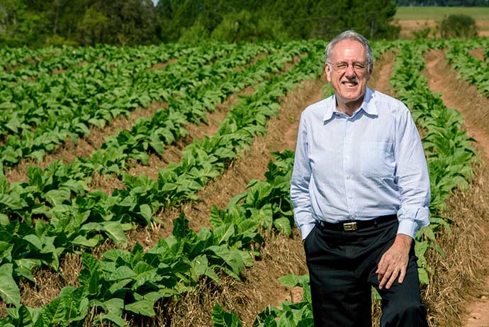 sinditabaco - Conservação do solo é sinônimo de bons rendimentos
