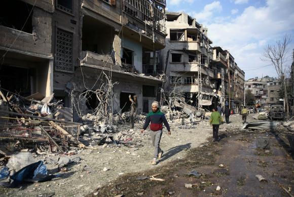 siria 1 - Trump diz que está pronto para atacar a Síria com mísseis