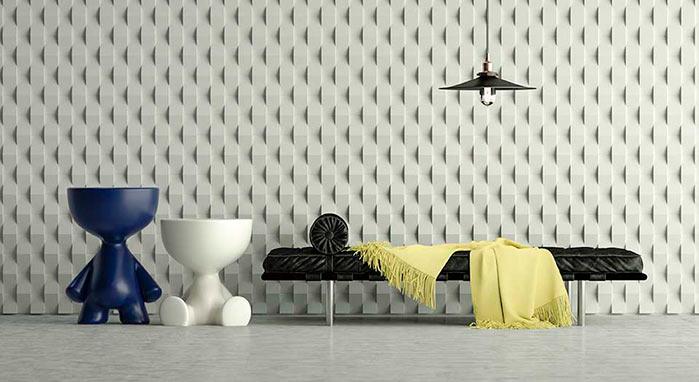 3D Tile Dieedro by Jayme Bernardo - Dieedro by Jayme Bernardo é lançamento da Colormix