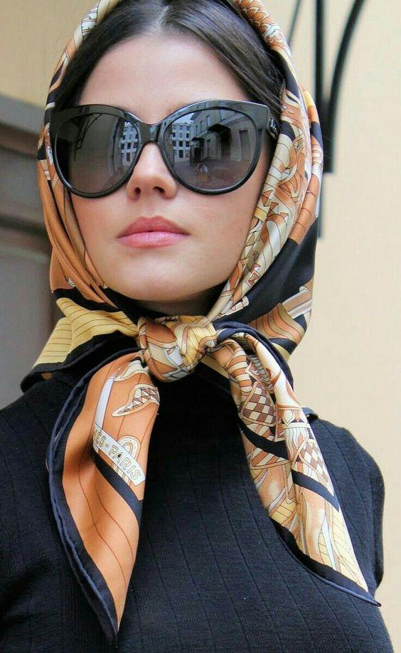 4b5ae6585566894d3f86dfd3568b8cda - Tendências Pinterest | Dicas para usar lenço no cabelo