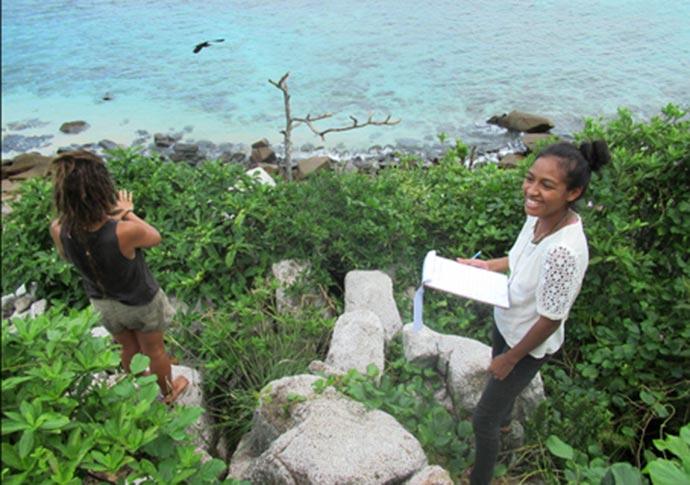 Acampamento em Seychelles - Acampamento em Seychelles ensina na prática sobre conservação da natureza