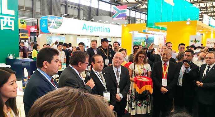 Avançam tratativas para exportação do arroz brasileiro para a China - Avançam tratativas para exportação do arroz brasileiro para a China