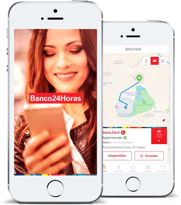 Banco24Horas lança nova versão de aplicativo - Banco24Horas lança nova versão de aplicativo