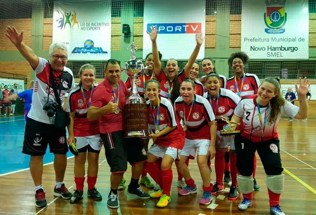 Campeãs da Taça NH de Futsal 3 - Campeãs da Taça NH de Futsal