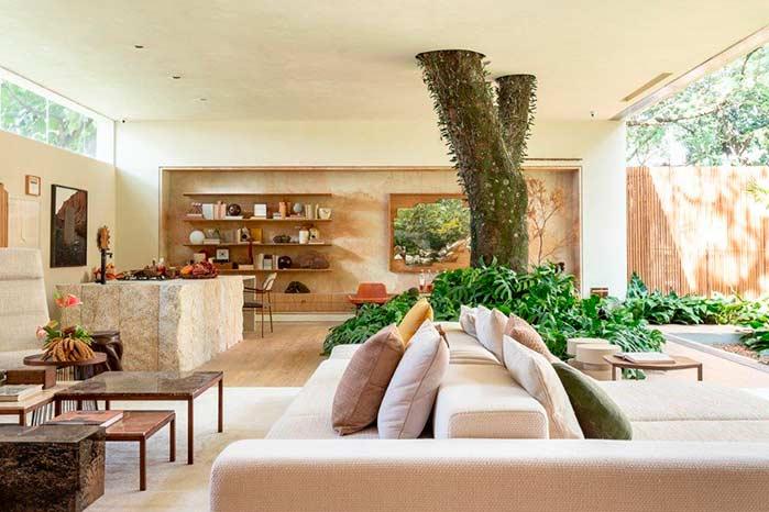 """Casa da Árvore - Suite Arquitetos na CASACOR SP - Trio assina espaço """"Casa da Árvore"""""""