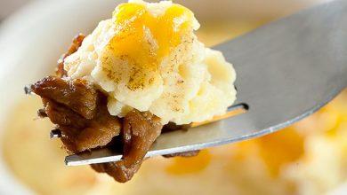 Photo of Escondidinho de batata doce com picadinho de carne