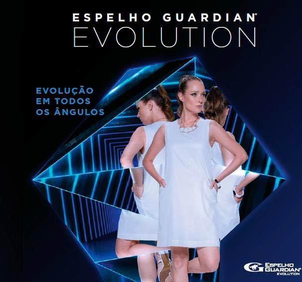 Espelho Guardian Evolution - Espelho Guardian Evolution é mais resistente à riscos e oxidação