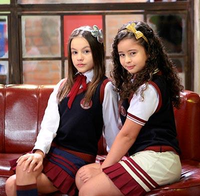 Filipa e Yasmim Foto Lourival Ribeiro SBT 3 - As Aventuras de Poliana - Resumo dos Capítulos 14 a 18 (04.06 a 08.06)