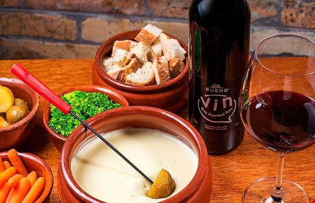Fondue de Queijo do Boteco Yujin 1 - Festival de Vinhos acontece em Balneário Camboriú