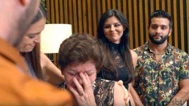 """Halime Jonas e mãe 02 390x220 - """"Fábrica de Casamentos"""" homenageia mãe de noiva que faleceu"""