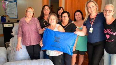 Photo of Hospital Municipal recebe doação de 100 travesseiros hospitalares