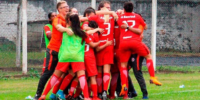 Inter guriascoloradas gol - Gurias Coloradas trazem ponto em jogo fora de casa