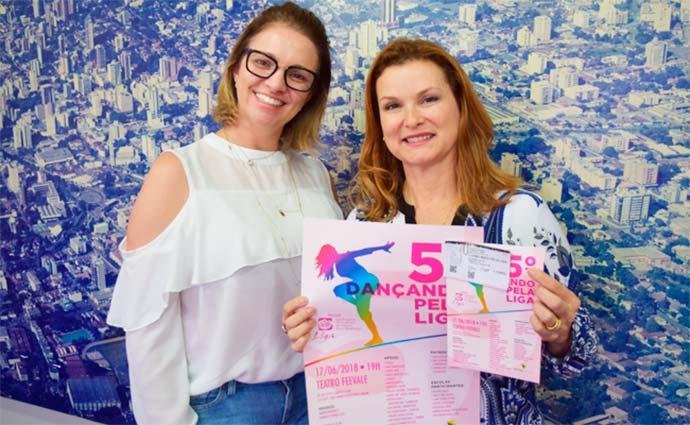 Liga Feminina de Combate ao Câncer nh - Prefeita hamburguense recebe representante da Liga Feminina de Combate ao Câncer