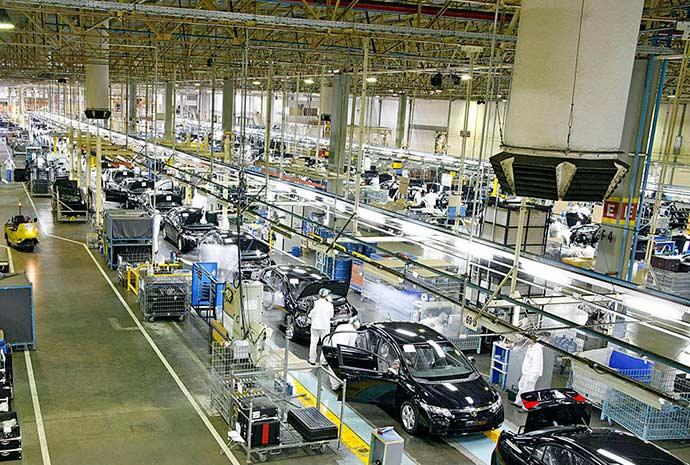 Linha de montagem da Honda em Sumaré SP - Projeto Indústria 2027: um futuro de desafios e oportunidades