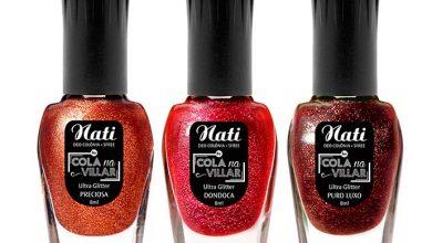 NATI COLA NA VILLAR coleção ULTRAGLITTERS 390x220 - Nati amplia sua linha Cola na Villar com oito novas cores