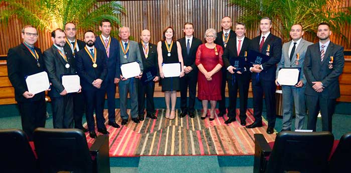 Os agraciados com a Ordem do Mérito 2018 - Ministério Público RS