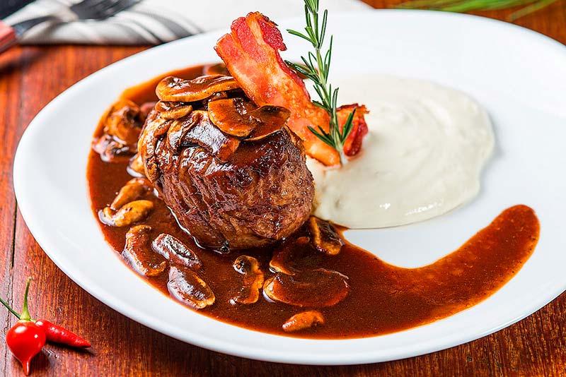 Prato principal Didge Steakhouse Pub - 9ª edição do Balneário Saboroso: Entrada, prato principal e sobremesa