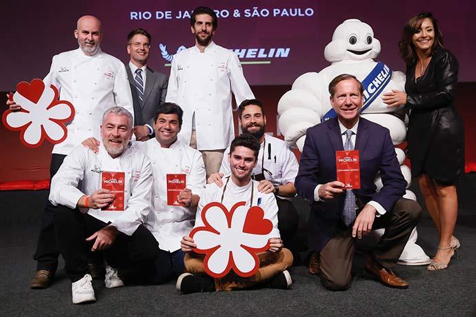 Premiados 2 Estrelas 0002 - Guia MICHELIN entrega premiação em jantar especial