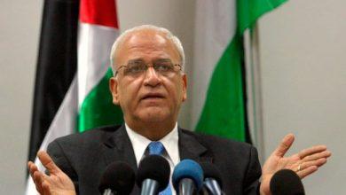 Saeb Erekat 390x220 - OLP pede que países árabes suspendam relações com Guatemala e Paraguai