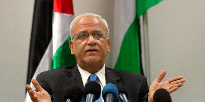 Saeb Erekat - OLP pede que países árabes suspendam relações com Guatemala e Paraguai