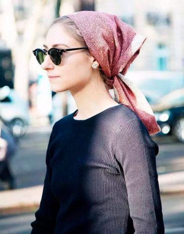 a822f33995feb2909dfed811d2c1f6aa 367x468 - Tendências Pinterest | Dicas para usar lenço no cabelo