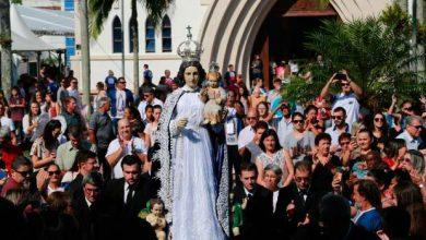 ararangua   governador participa de celebracao religiosa que marca criacao de santuario 5 390x220 - Celebração religiosa marca criação de Santuário em Araranguá - SC