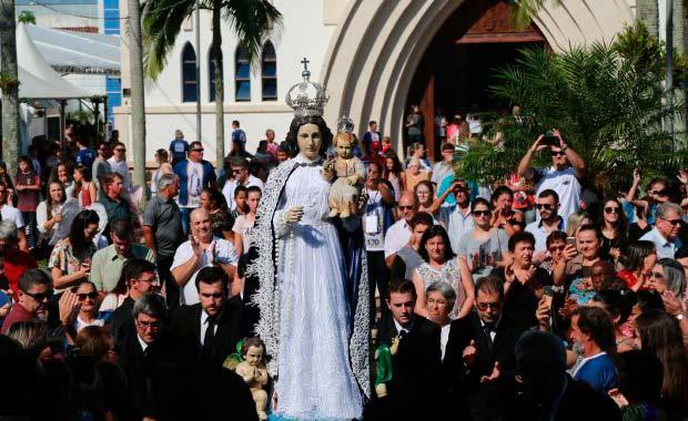 ararangua   governador participa de celebracao religiosa que marca criacao de santuario 5 - Celebração religiosa marca criação de Santuário em Araranguá - SC