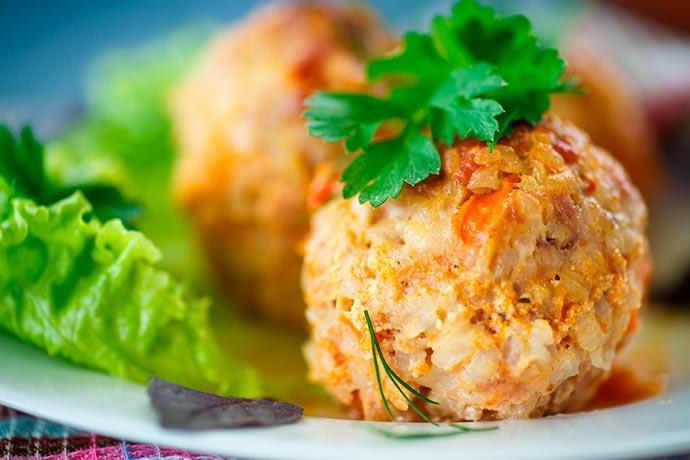 bolinho de arroz integral assado sanavita - Bolinho de arroz integral assado