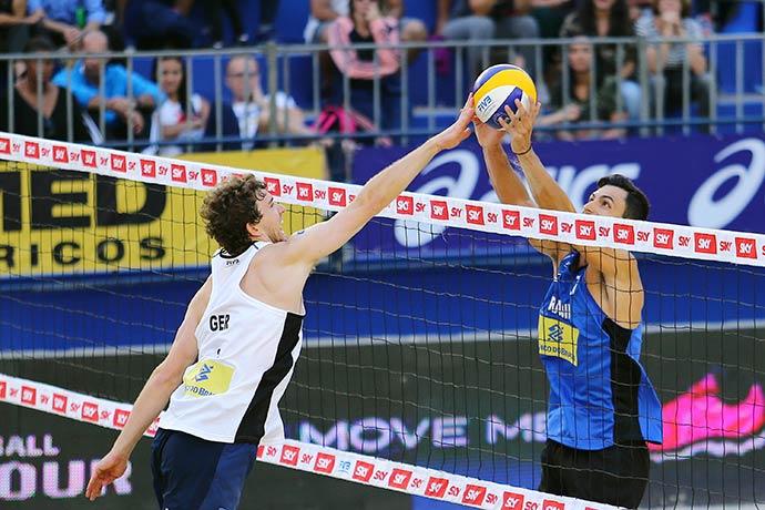 brasil garante duas duplas masculinas direto nas oitavas - Vôlei de Praia: Brasil garante duas duplas masculinas direto nas oitavas