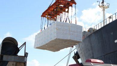 calulose 390x220 - Exportação de celulose movimenta o Porto do Rio Grande