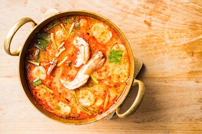 camarão tailandês - Receita - Camarão tailandês