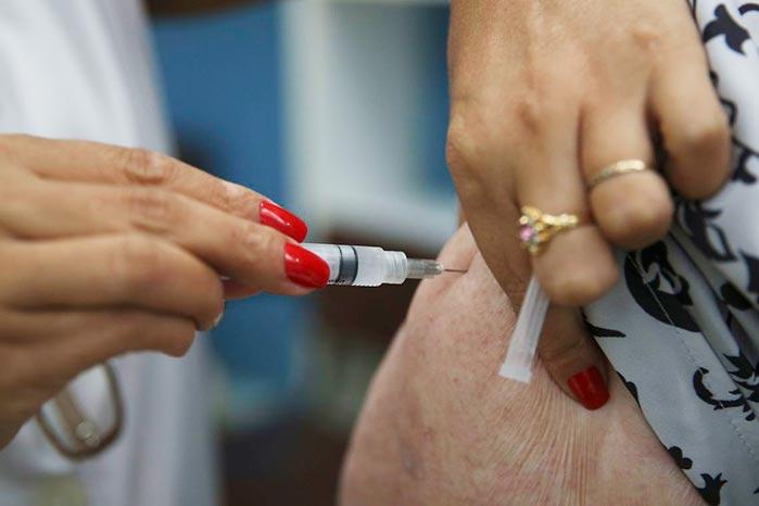 campanha gripe - Campanha de vacinação contra a gripe é prorrogada até 15 de junho
