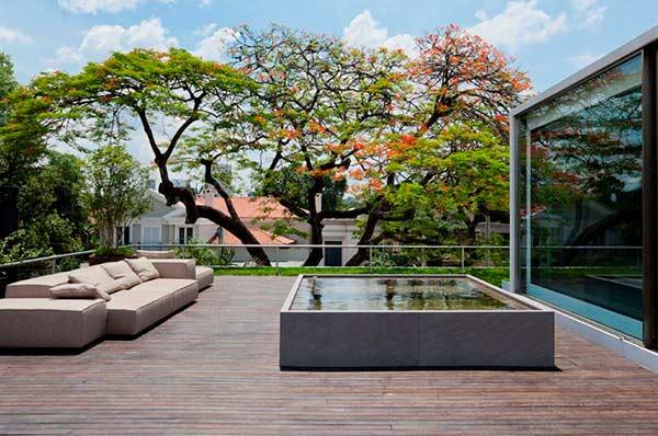 casa belgica5 - Casa Bélgica: área social liberada de paredes e integrada ao jardim