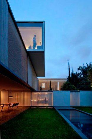 casa belgica9 312x468 - Casa Bélgica: área social liberada de paredes e integrada ao jardim