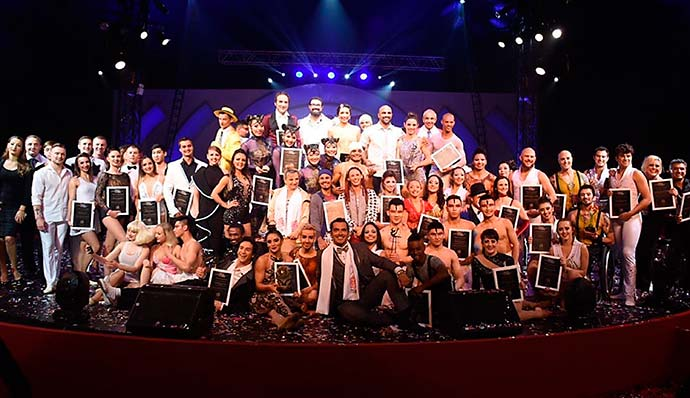 cirque - Brasileiros se destacam no 1st Cirque International Festival of Brazil Contest