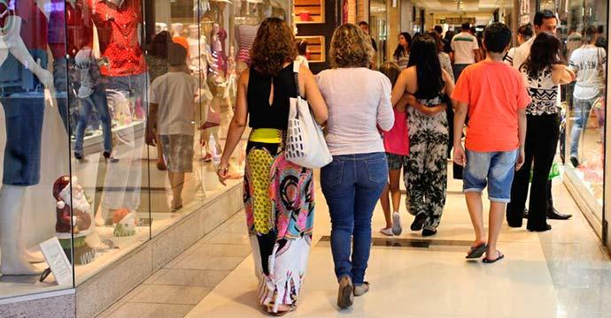 comercio - Resultado das vendas do Dia das Mães é o melhor dos últimos cinco anos