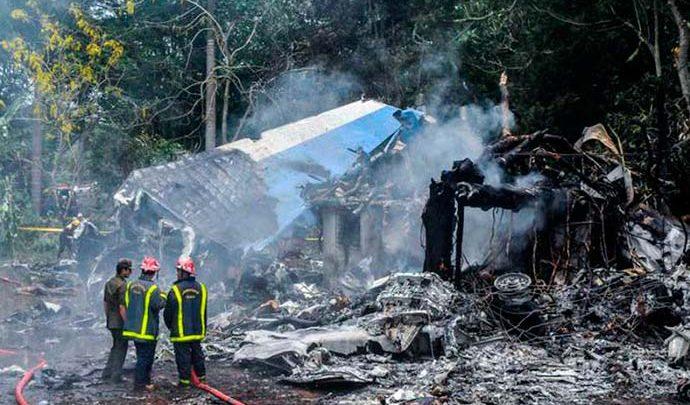 cuba aviao 690x405 - Cuba: 67 das 111 vítimas de acidente aéreo foram identificadas