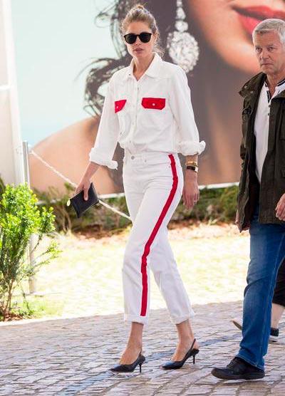 doutzen kroes web  - Amber Heard e Doutzen Kroes usam Polaroid em Cannes